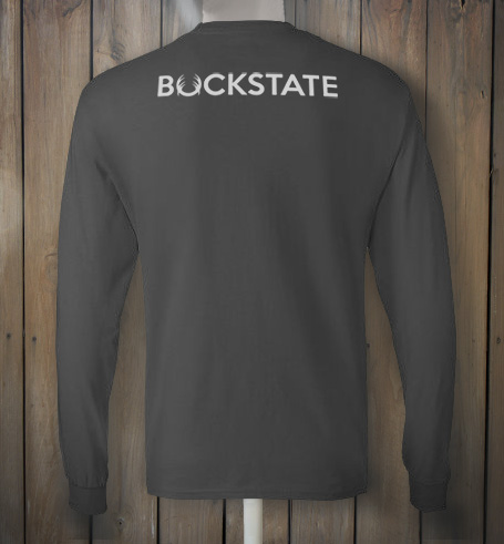 Grey longsleeve with white deer design