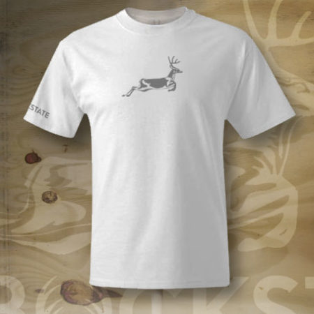 Jumping deer t-shirt