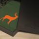 Deer tshirt displayed in packaging box